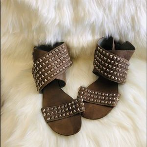 😍NEW LISTING😍ASH studded ankle wrap sandal